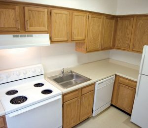 Queens Manor Apartments Kitchen
